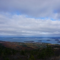 Bar Harbor from the Top